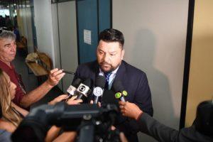 Delegado Gustavo Sotero diz que é um homem da lei e que apenas se defendeu