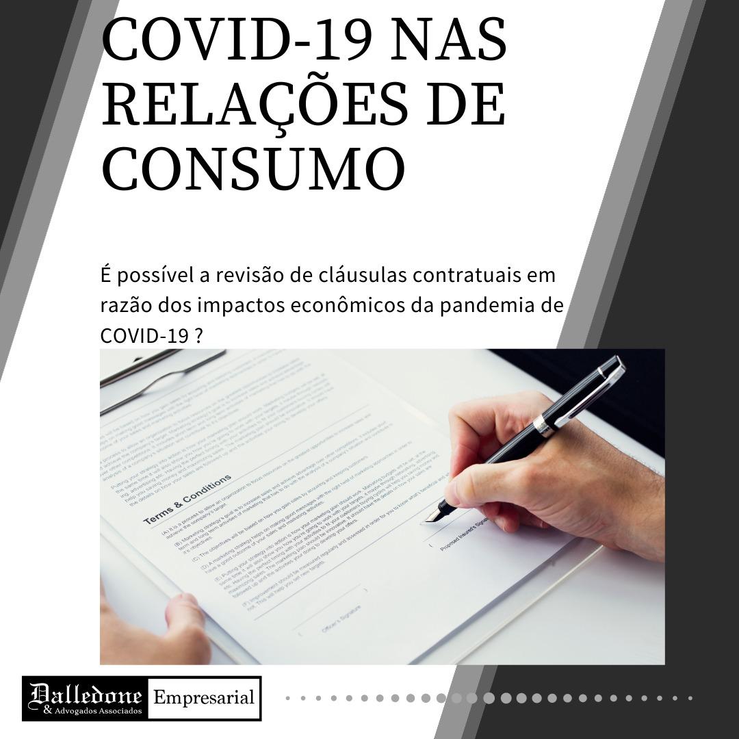 OS IMPACTOS ECONÔMICOS DA PANDEMIA DE COVID-19 NAS RELAÇÕES DE CONSUMO